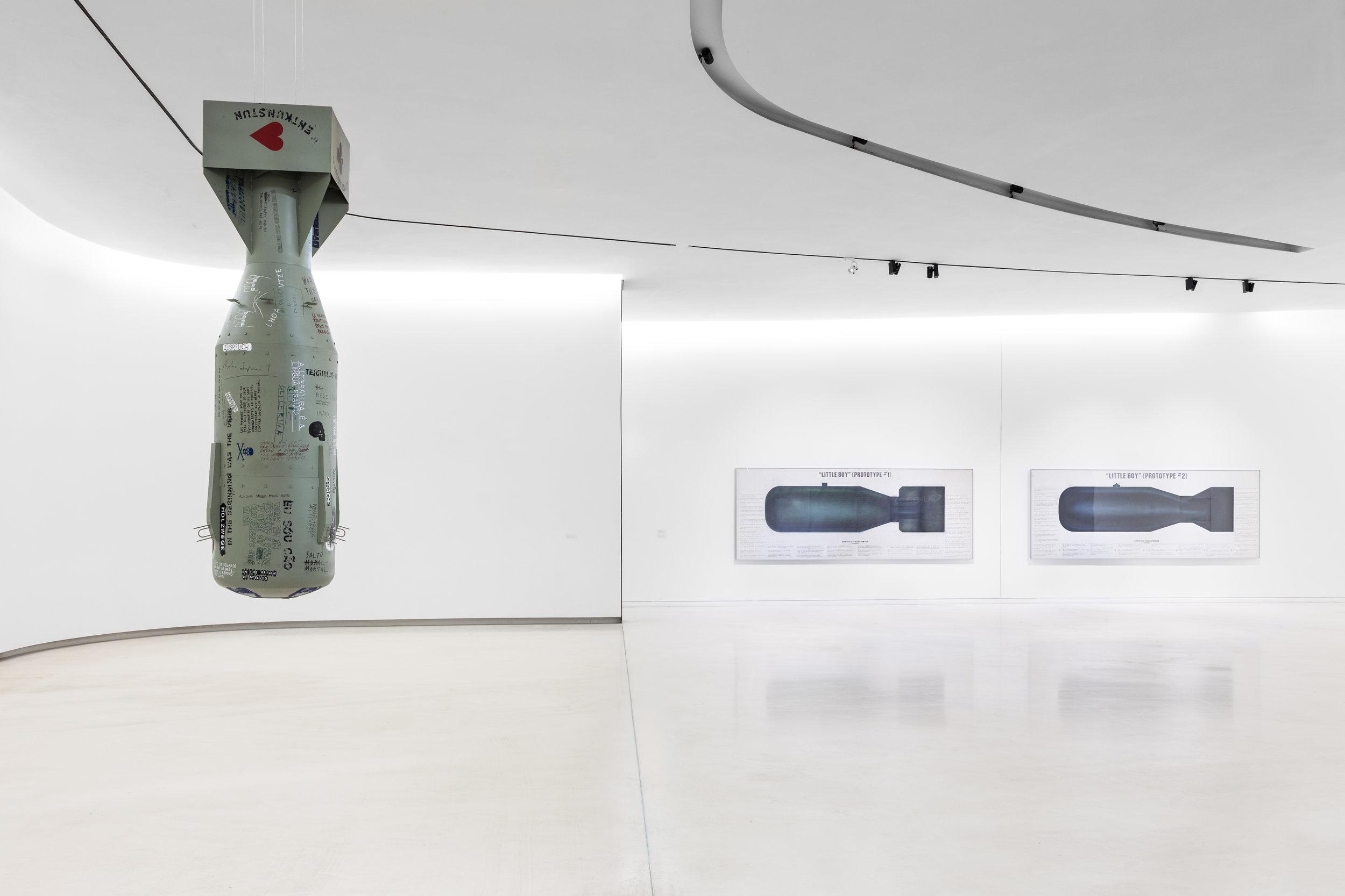 João Louro,  Linguistic Ground Zero,  2018 Installation view, MAAT, Lisbon, 2018. Photo: Bruno Lopez