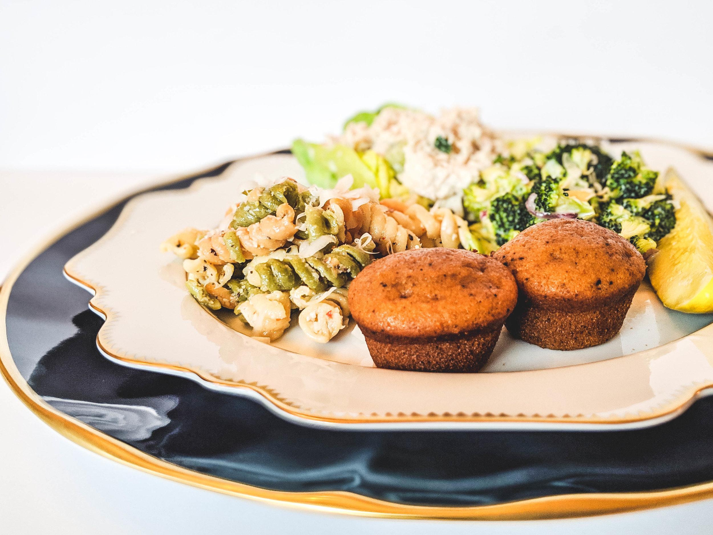 Copy of chicken salad plate