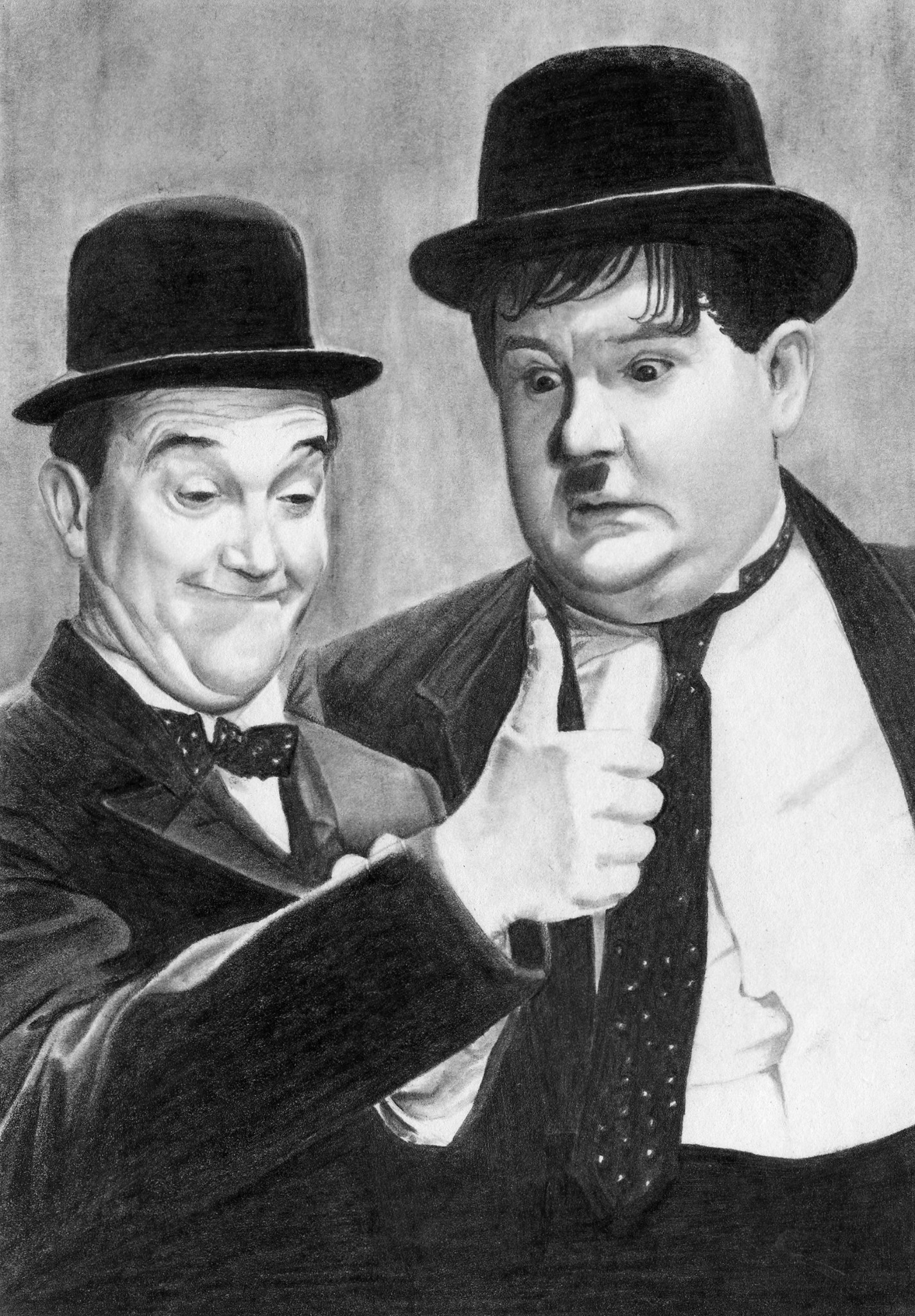 Laurel and Hardy. A5