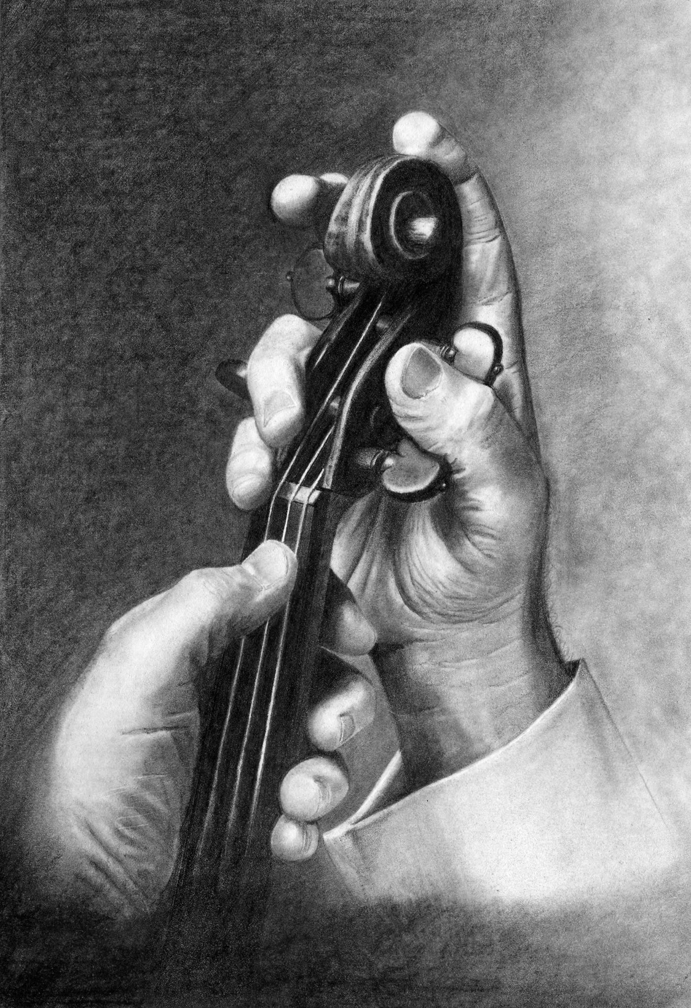 Yehudi Menuhin. A5 (Prints Available)