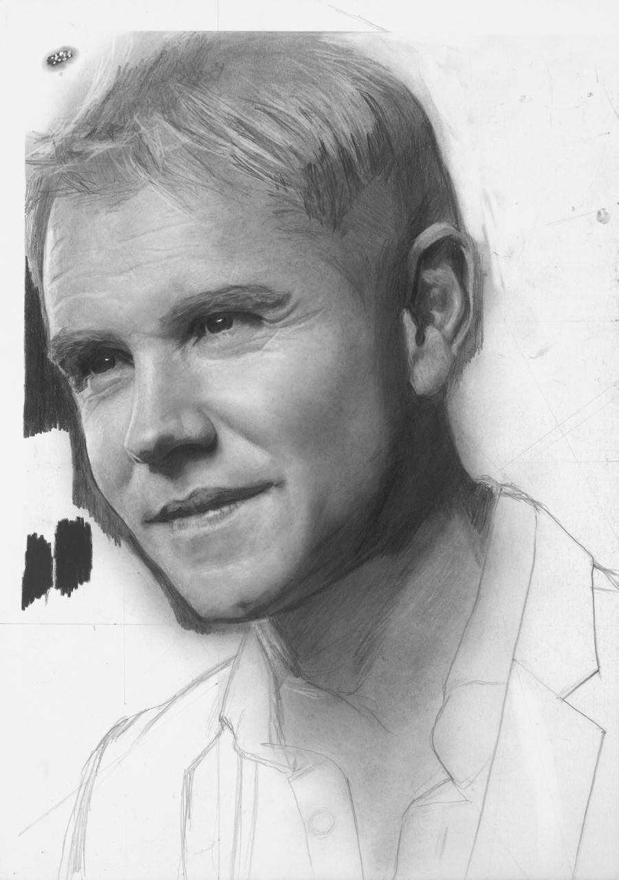 Neil, Workshop Sketch, A4