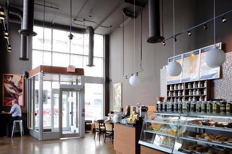 (Bridgehead at Golden Ave location, photo from bridgehead.ca