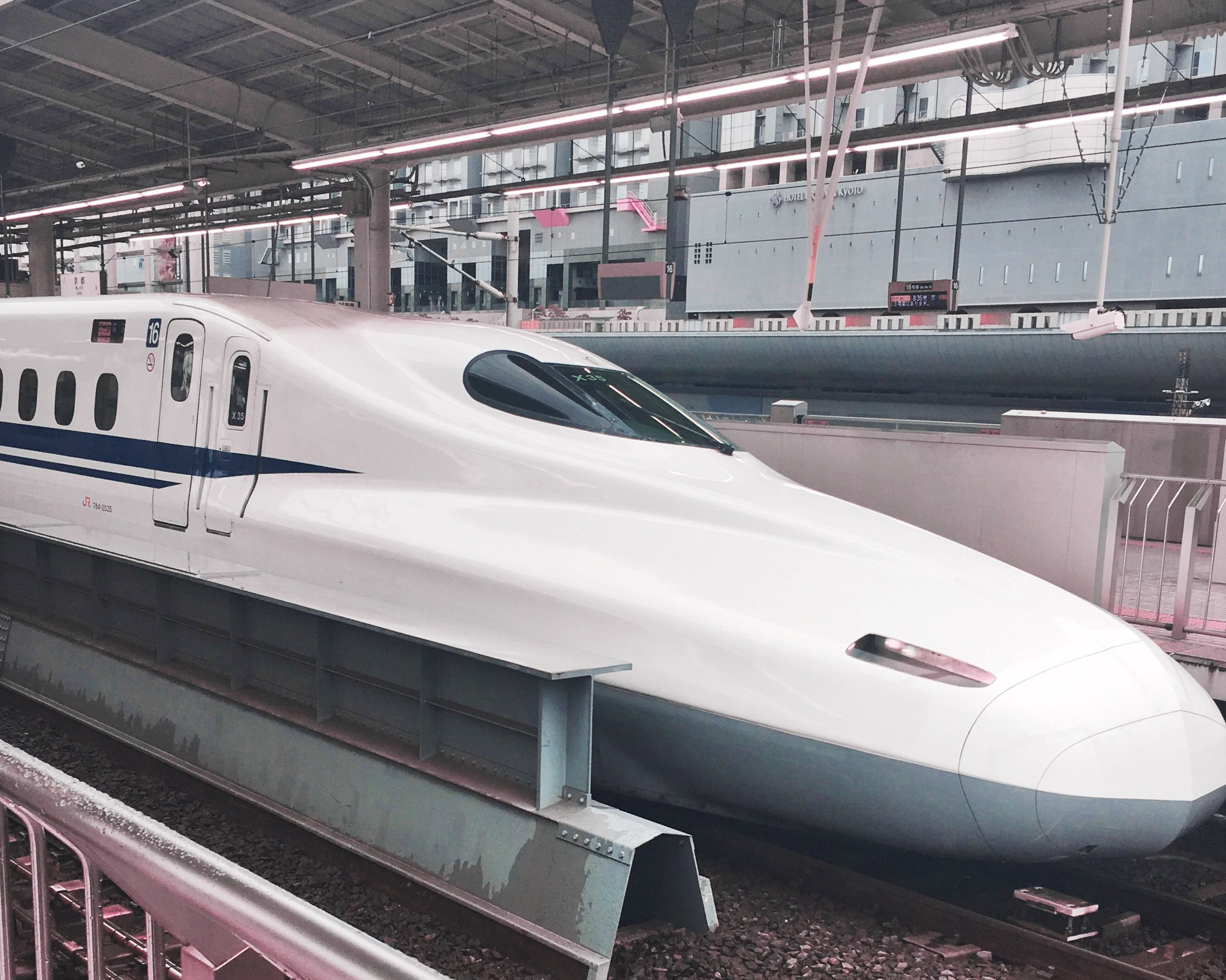 The shinkansen is BUILT FOR SPEED!