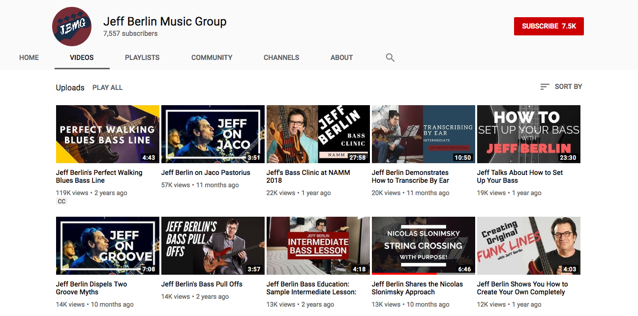 Find out why Jeff is such a skilled - and popular - educator on our    JBMG YouTube channel   .