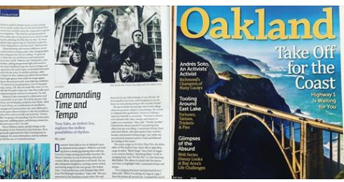 Oakland Magazine, May 2019