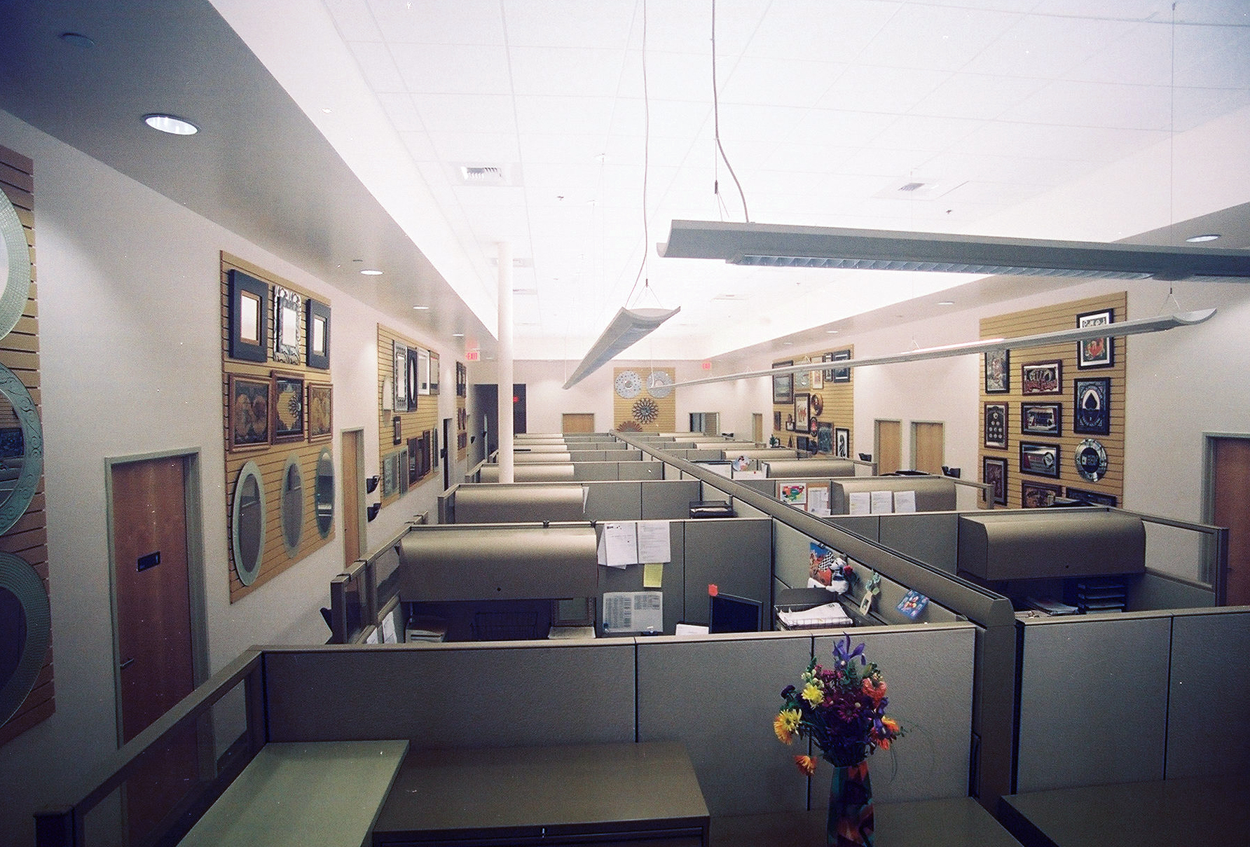 Back in the day when cubicles were the standard, we sourced these preowned Herman Miller systems furniture, keeping within the client's budget.