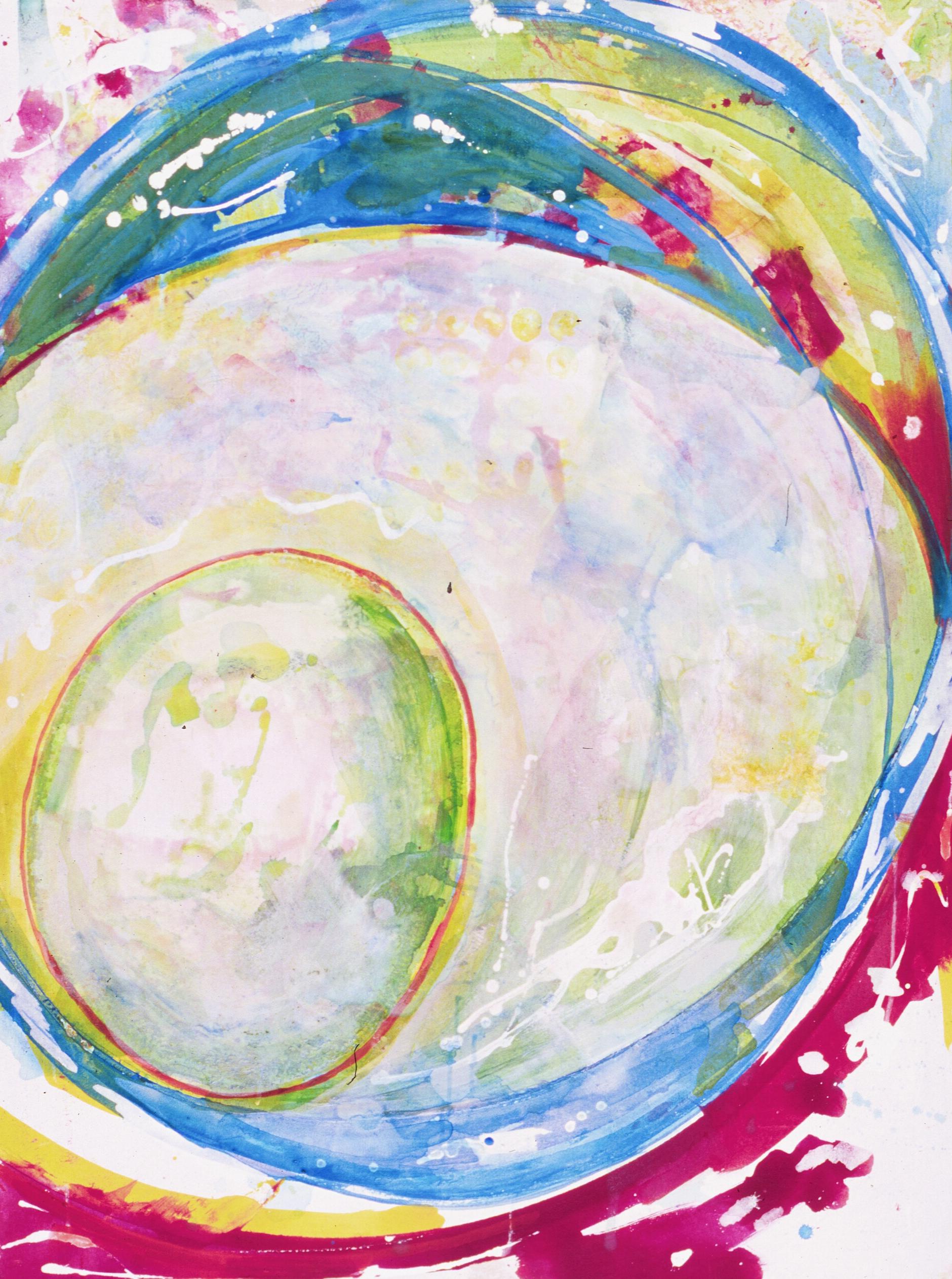 """Orbit   Acrylic on Canvas on Panel  48"""" x 36"""""""