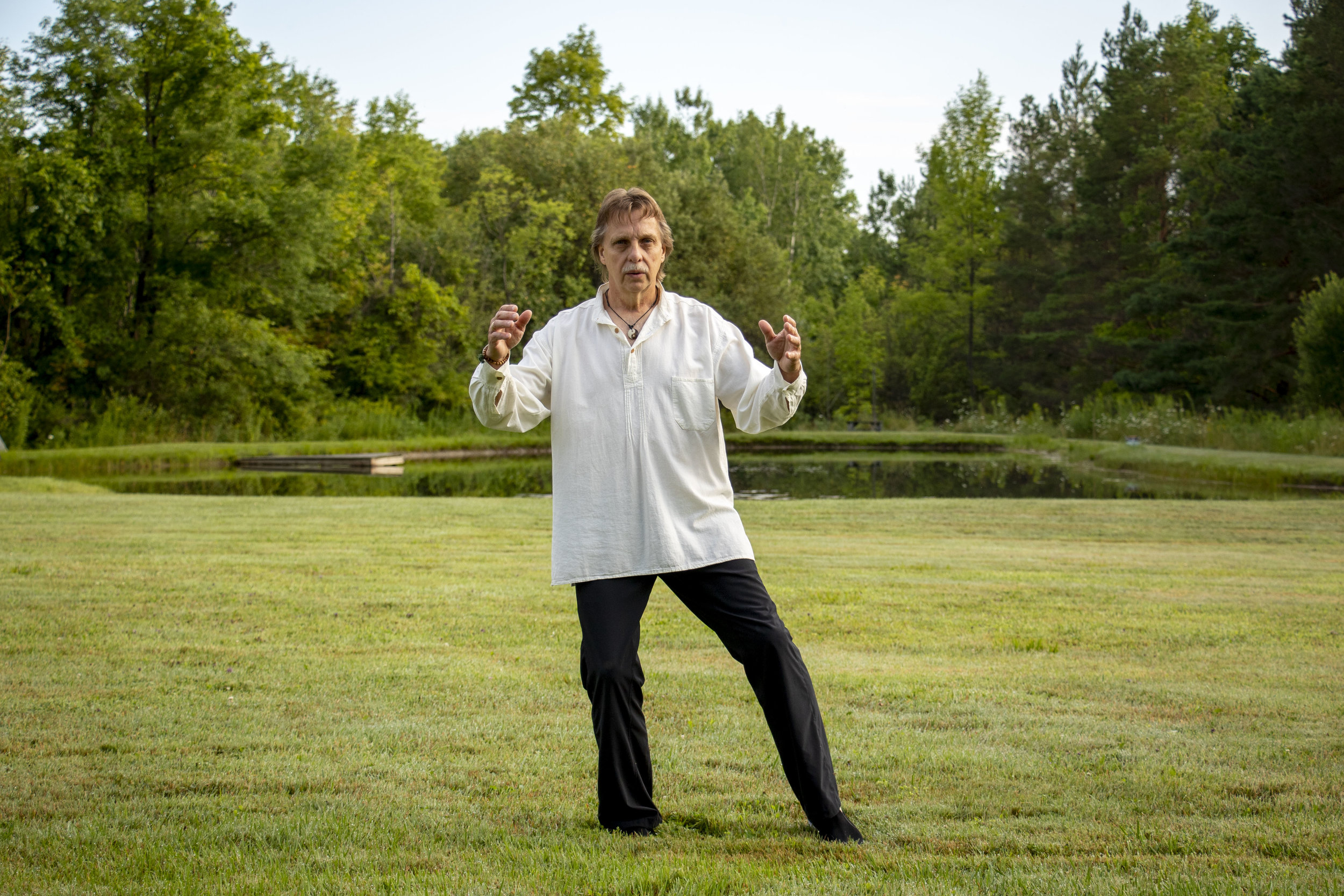 Meditation in Motion/QiGong - A Chinese system of gentle exercises, breathing and meditation.