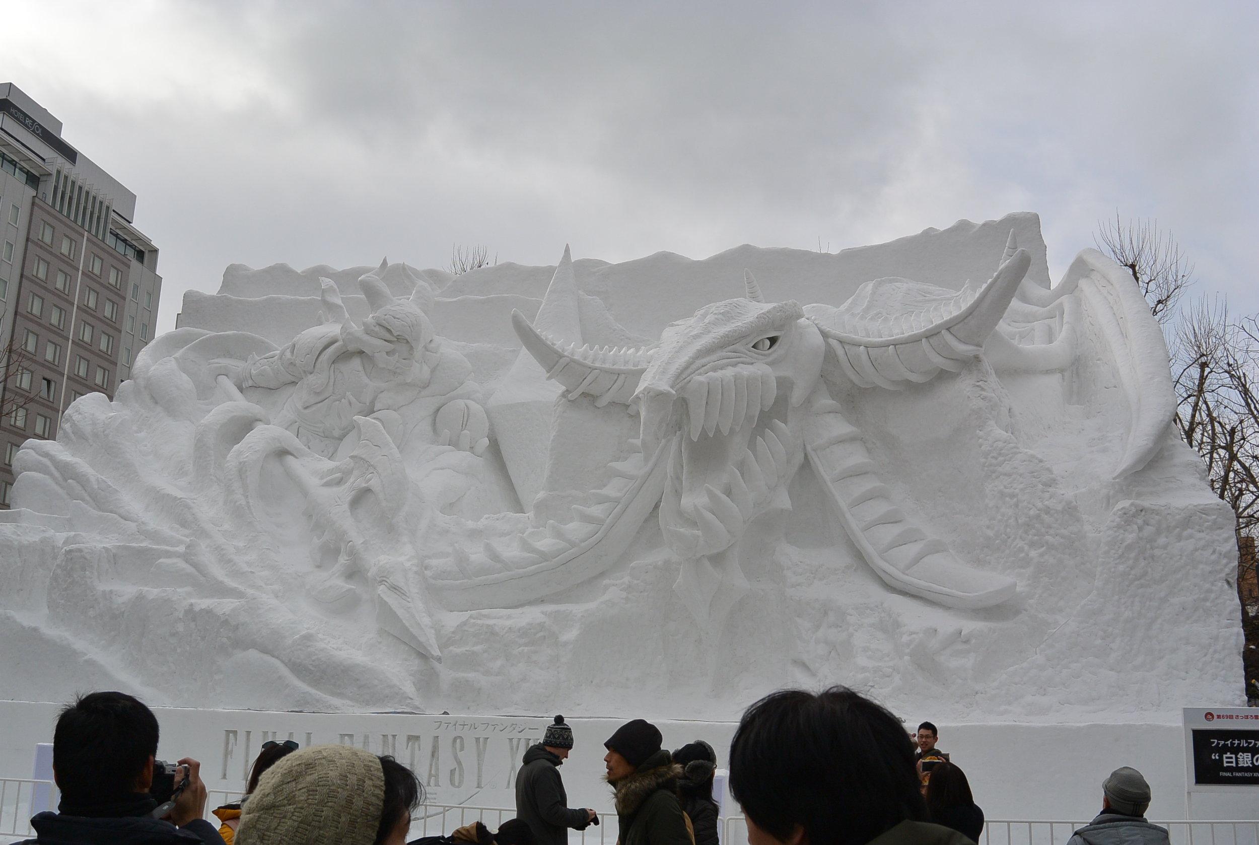 Day 3: Sapporo Snow Festival
