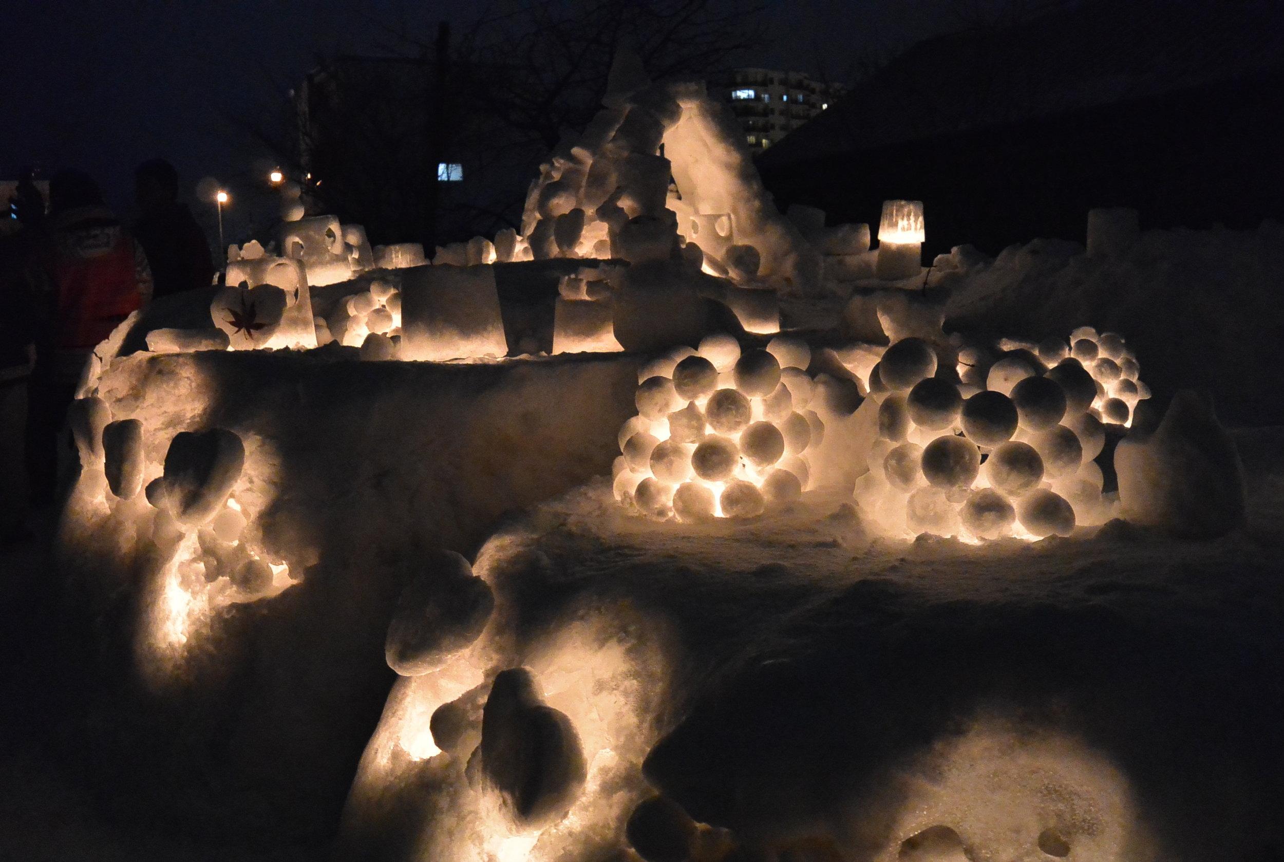 Day 4: Otaru Lights Festival