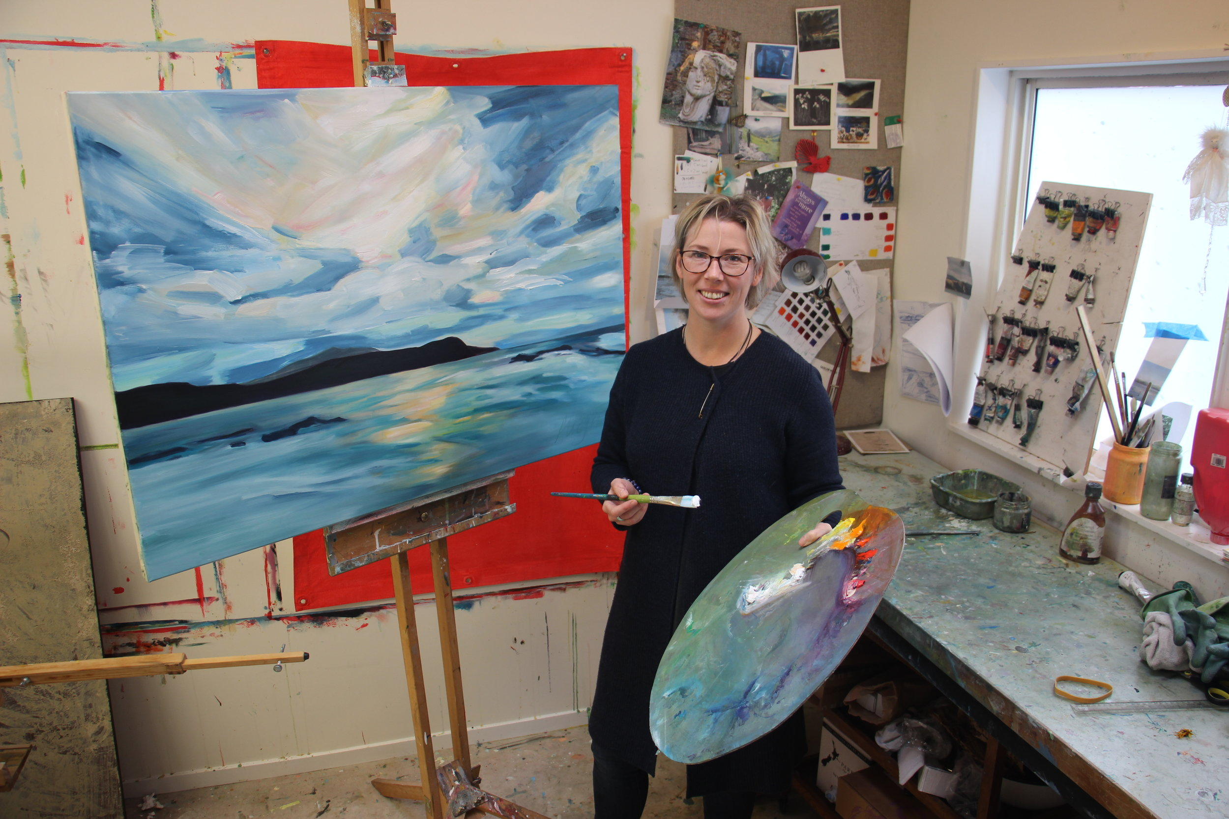 Porirua artist Alicja Gear says her standing as an artist has greatly benefitted from being a two-times winner at the awards, and is encouraging fellow artists to enter work in this year's awards.