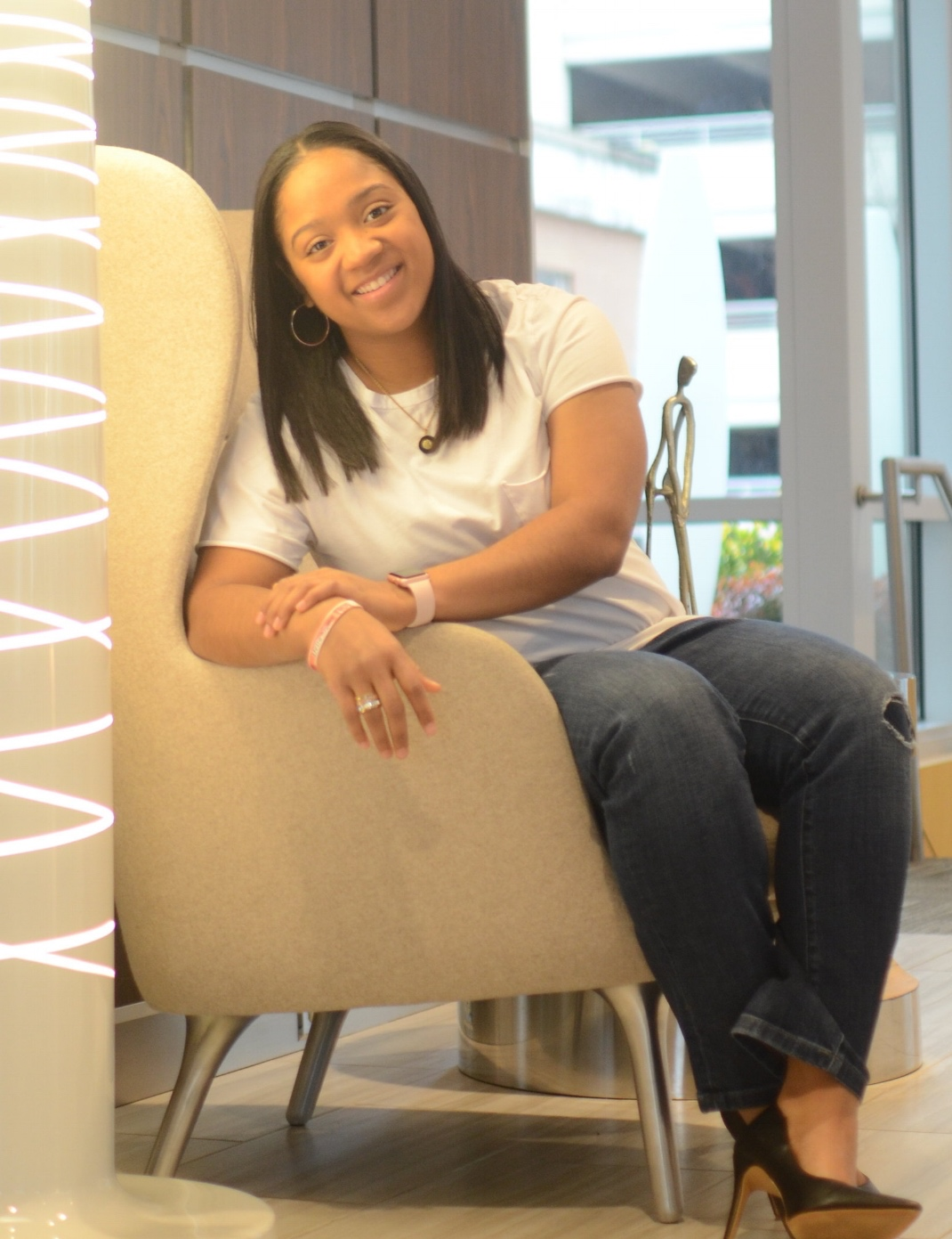 Ja'Naye Ruffin - Founder/President - Ja'Naye Ruffin is a native of Washington, D.C. She received her BS in Sport Management and Communications at Elizabeth City State University. Her goal is to help impact the lives of our young men by eliminating saggin' pants and introducing them to their very first custom tailored suit.