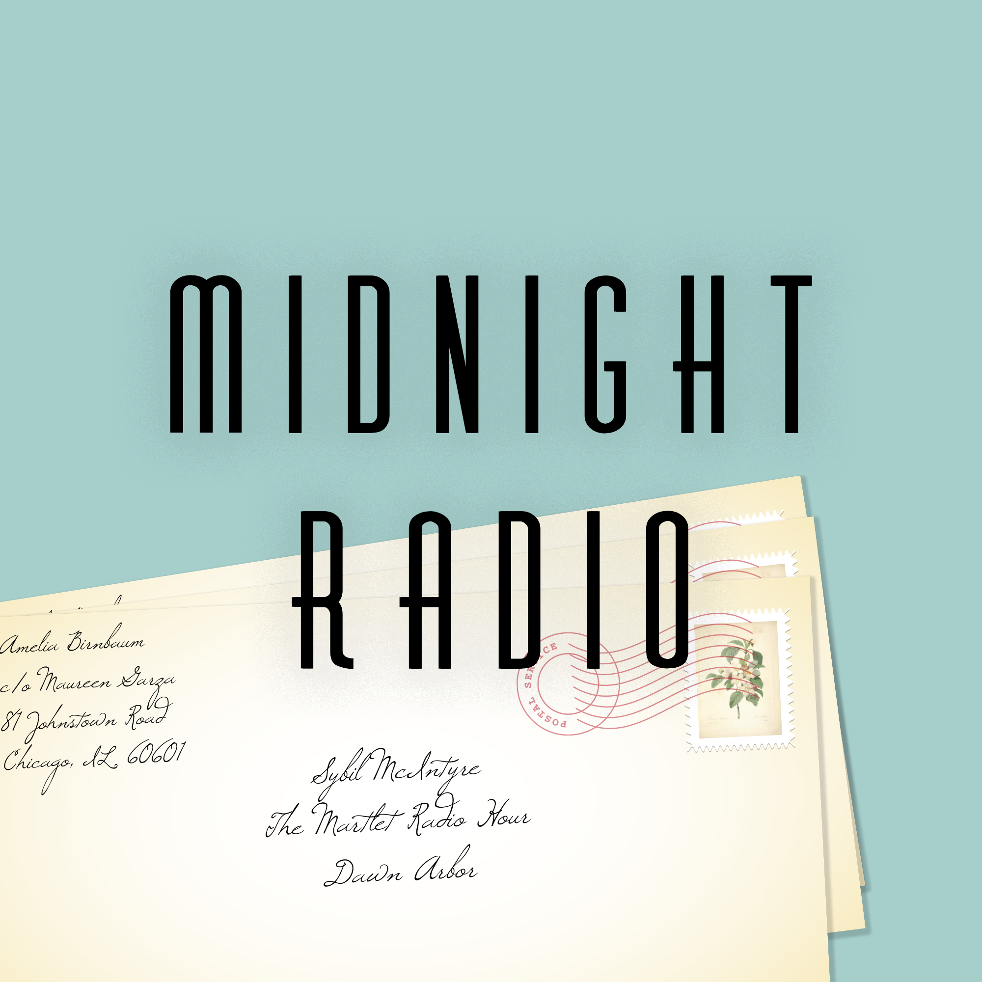 Midnight Radio logo by Em Broude