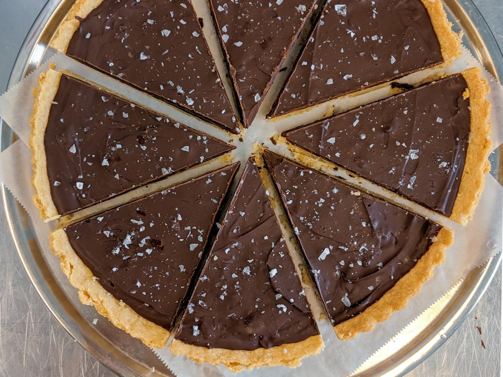 Gluten Free Chocolate Tart