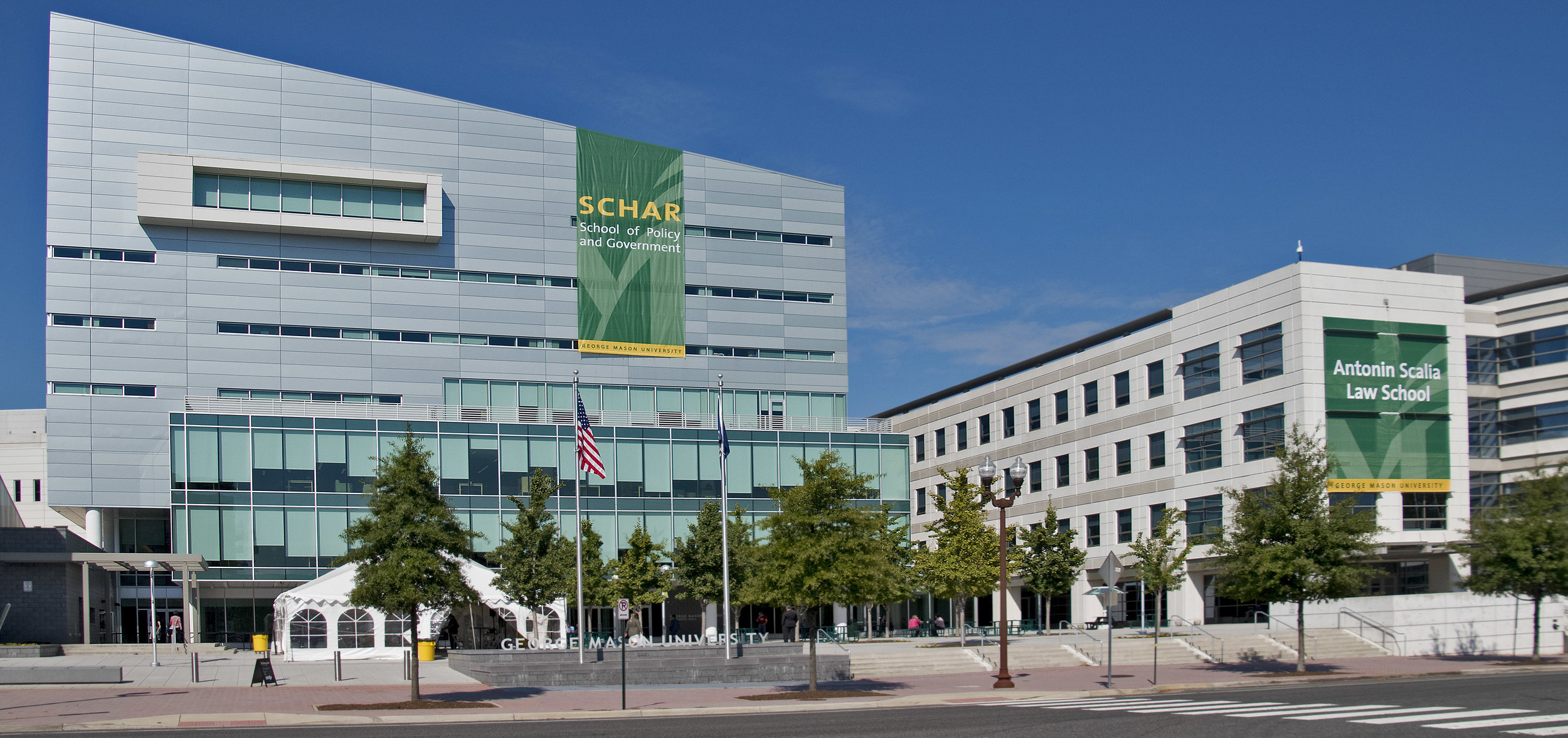 The Schar School of Policy and Government at George Mason University.