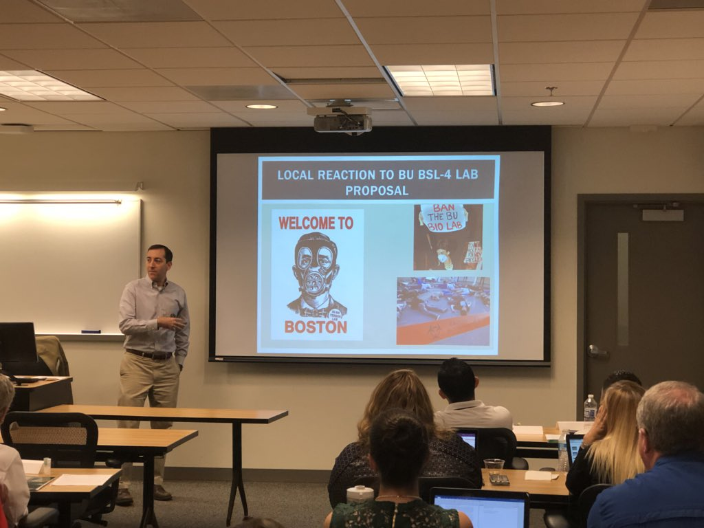 """Dr. Koblentz on biosecurity as a """"wicked problem."""""""