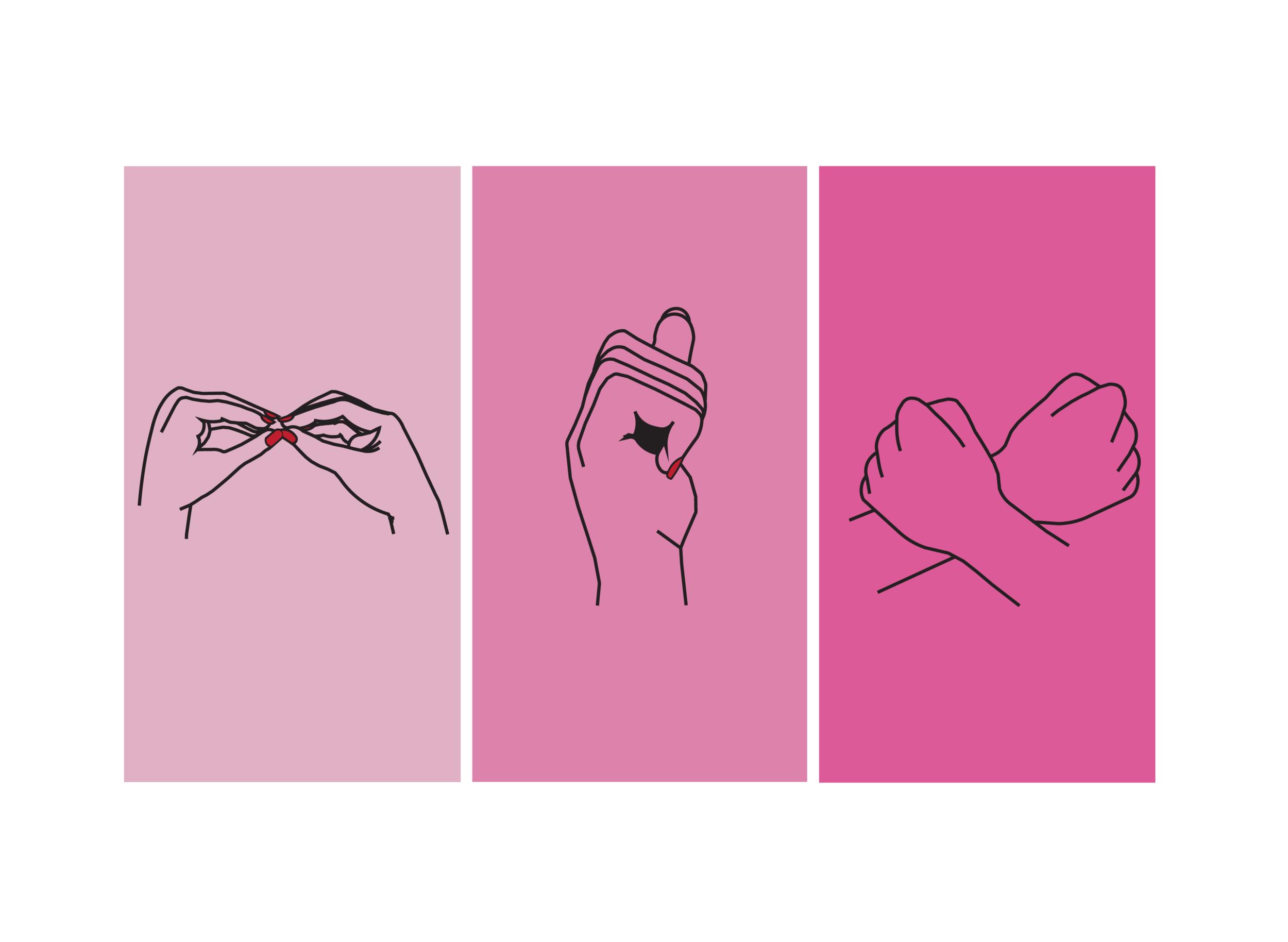 Illustration | Sign language | 2017