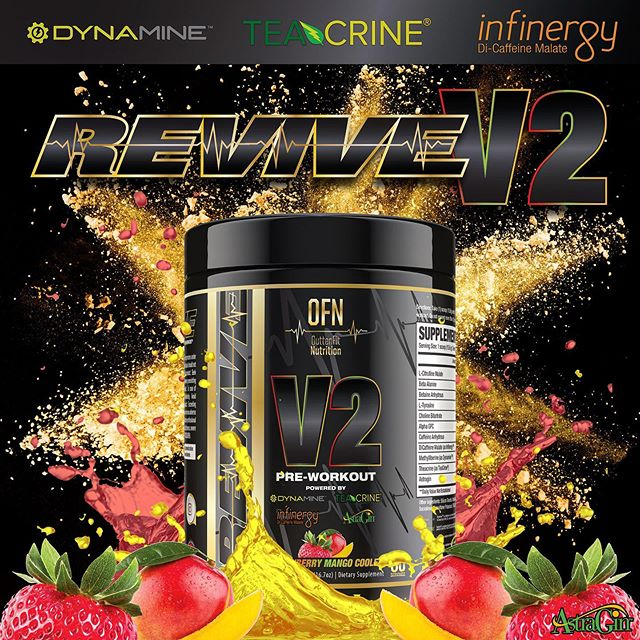 ⭐️Revive V2⭐️ 🏆Explosive Energy 🏆Powerful Focus 🏆Enhanced Pump 🏆Increased Performance & Endurance 🏆 Unmatched Flavor  Our top rated preworkout will take your workouts to the next level while working consistently and synergistically! More mouthwatering flavors on the way 👀#ofnsupps #workhardstayhumble