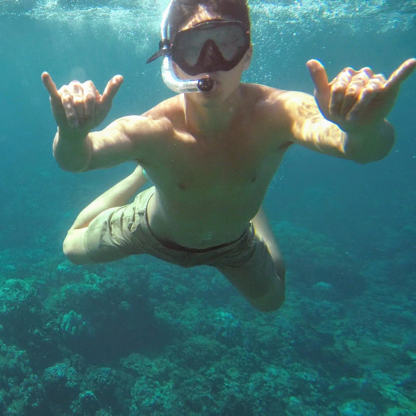Private snorkeling tour in Waikiki, Oahu, Hawaii