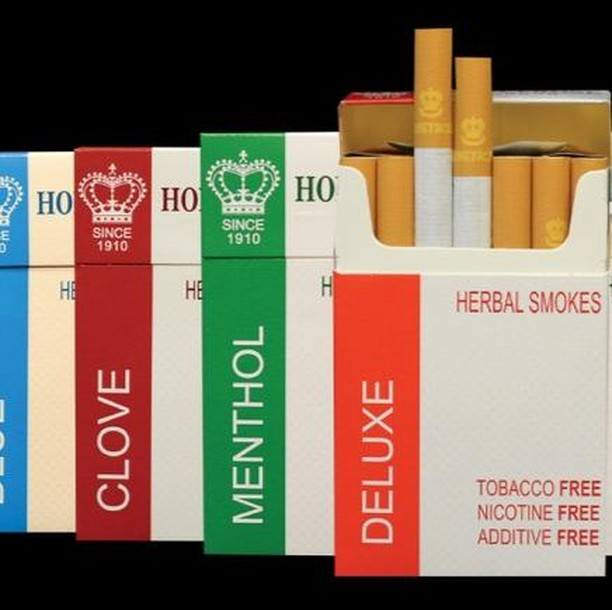Honeyrose Herbal Smokes  These cigarettes have no nicotine, tobacco, or additives. They are meant for you to use as an aid to quit smoking. There are two main ways to use them:  1: With Laser Acupuncture. You can take some to use if you have any really bad cravings that you can't get through. It is better to have one of these, as it won't increase your nicotine levels and reset your progress.  2: By themselves. You can incorporate these into your daily routine to slowly cut back your nicotine levels. This way you get the feeling of smoking, but without the addicting qualities.