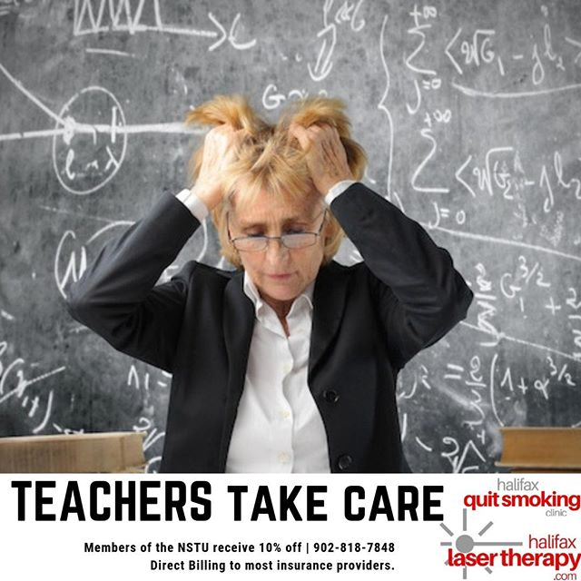 School starting is just around the corner. Take some time for yourself and enjoy 10% off laser acupuncture treatments. We treat stress, anxiety, depression, and more.  Schedule your FREE Consultation 902.818.7848 | www.halifaxlasertherapy.com  #teacher #school #health #mentalhealth #elementary #juniorhigh #highschool #stress #natural #laser #acupuncture #laseracupuncture #wellness #happy #kids