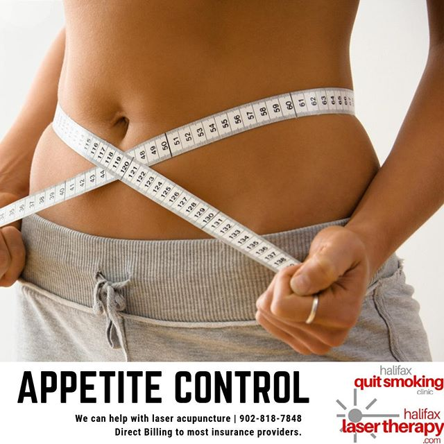 Laser Acupuncture for Appetite Control  Help control those sugar cravings or cut back on large portions. Laser acupuncture helps you develop new habits and nips cravings in the butt.   Schedule your FREE Consultation 902.818.7848 | www.halifaxlasertherapy.com   #appetitecontrol #appetite #hungry #bored #snacks #weight #weightloss #healthy #natural #acupuncture #laser #painless #NS #dartmouth #halifax #sackville #bedford #HRM #alternative #health #wellness #happy