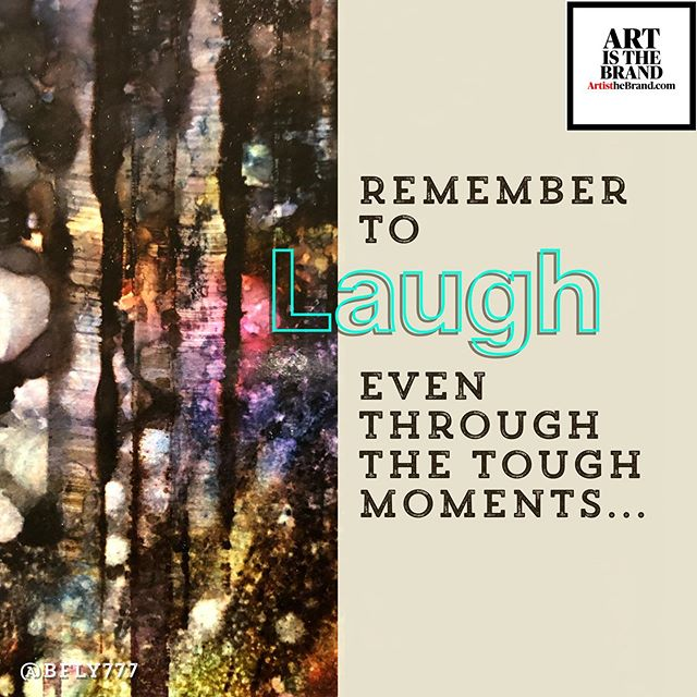 Find Joy! Embrace Laughter- even when it's not all FUN AND GAMES! Remember to Laugh. #LaughterLeadstoCreativity #Alignment #Art #ArtIsTheBrand #BrandVoice #Authenticity #OwnYourSkill #OwnYourGift #OwnYourPurpose #TheBusinessOfArt #NotJustPrettyPictures #BrandMarketing  Art By @bfly777 (www.BFLY777.com)
