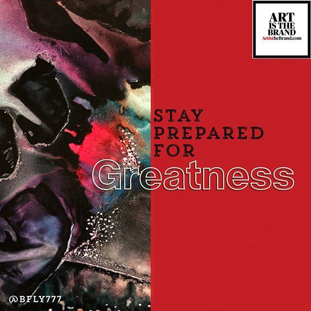 Just a Reminder!! Greatness is on the roadmap. Stay Prepared. It's coming! #Focus #Preparedness #Greatness #Alignment #Art #ArtIsTheBrand #BrandVoice #Authenticity #OwnYourSkill #OwnYourGift #OwnYourPurpose #TheBusinessOfArt #NotJustPrettyPictures #BrandMarketing  Art By @bfly777 (www.BFLY777.com)