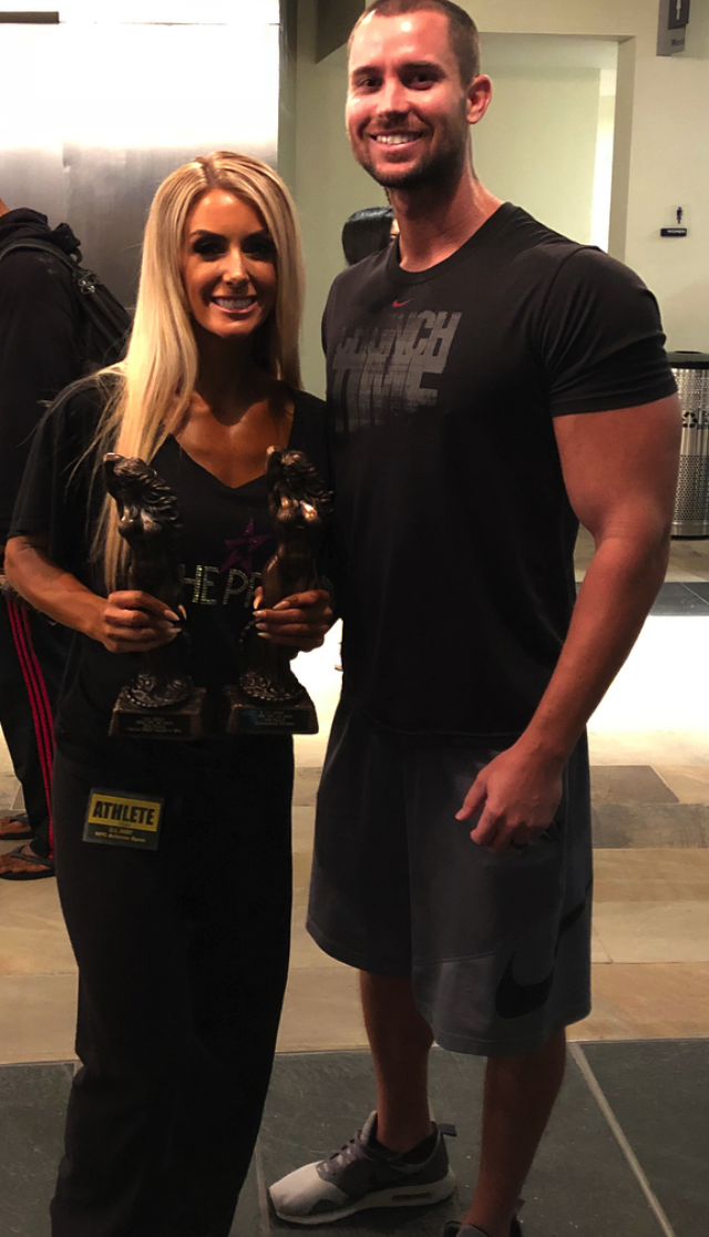 Post AZ Open Fitness Show with my long time trainer Artie Cook (from Pro Physiques).