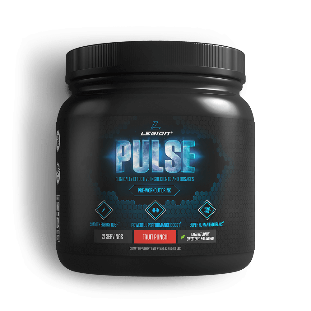 Pulse - You should know and care what goes into the supplements you take (you'd be surprised to know that many companies use cheap fillers that are hard on your body and a complete waste of your money). Do your homework! Fruit punch is still my go-to flavor after 3 years. Click below to get 10% off your first order.