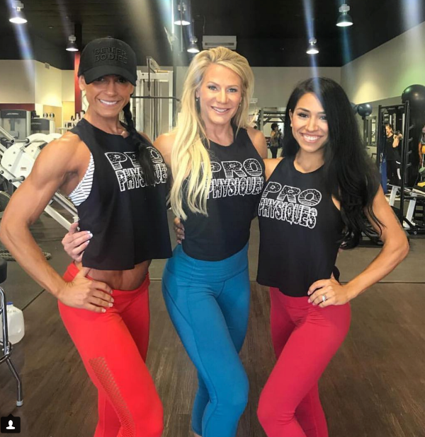 Pro Physiques - Personal trainers Carly Starling (Left) and Renee Harshey (Right) and studio owner Whitney Jones