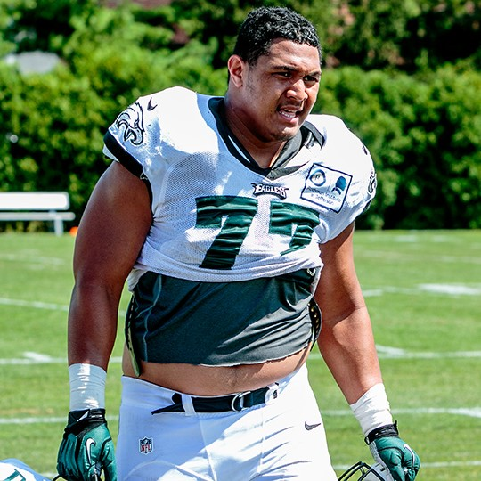 Warrior by birth: Destiny Vaeao's 7,000-mile journey from American Samoa to Philadelphia -