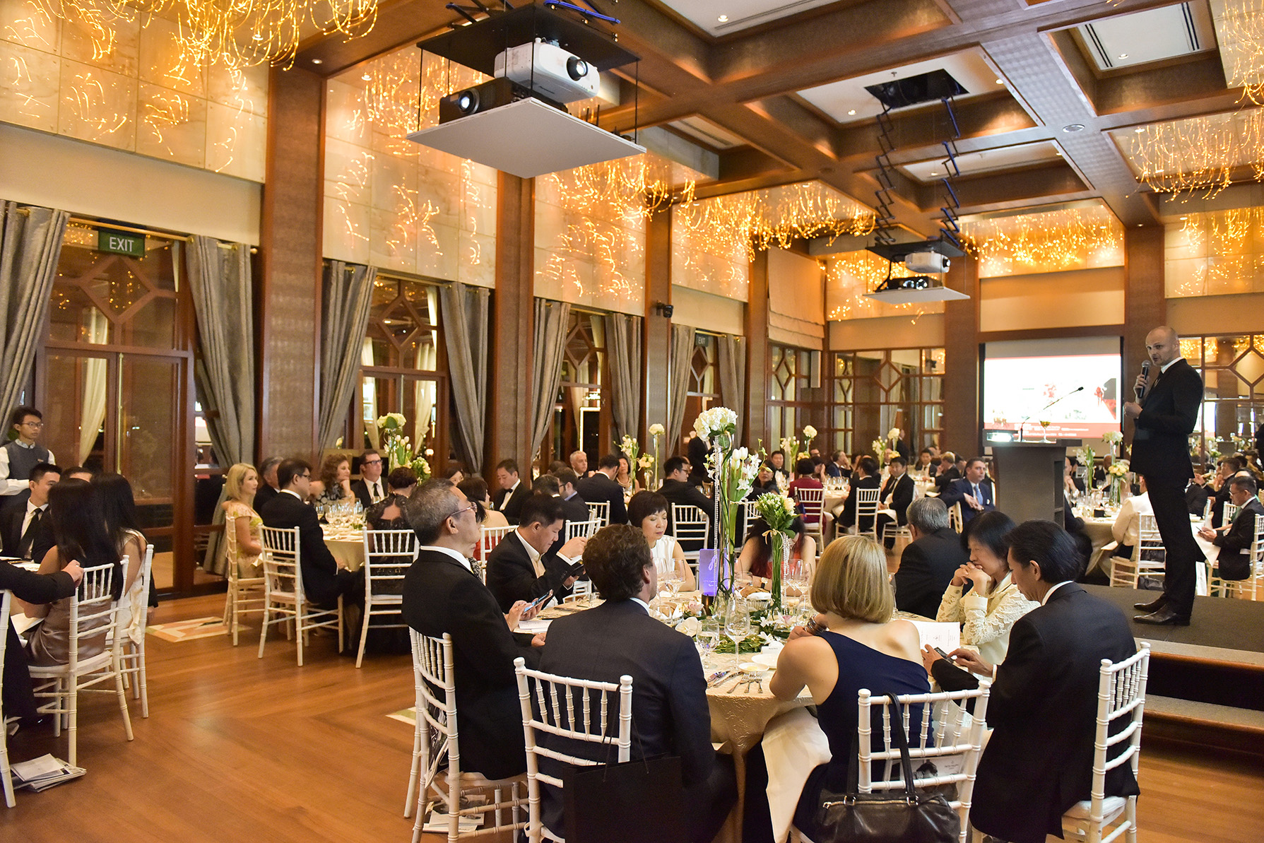 Full attendance for Singapore Fete Le Champagne