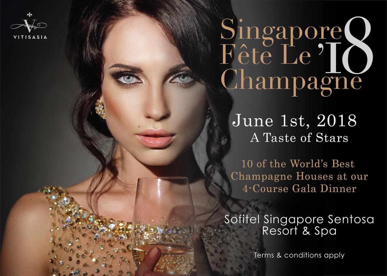 Singapore Fete Le Champagne 2018