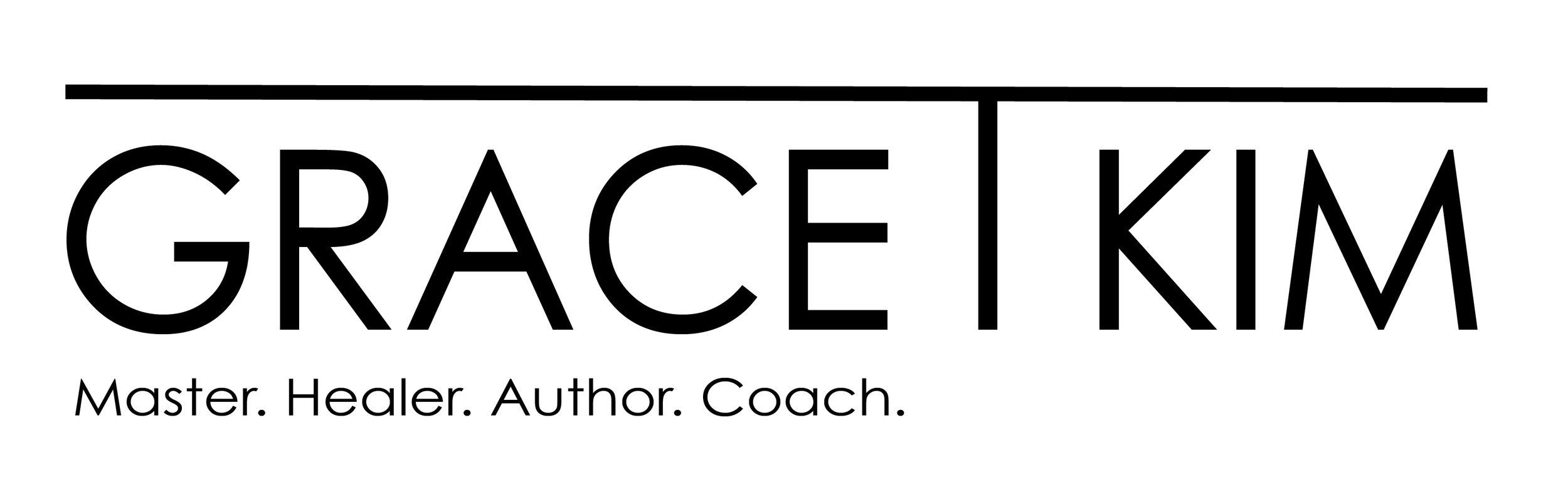 Grace T Kim, Master, Healer, Author and Coach. Partner of Ludovic