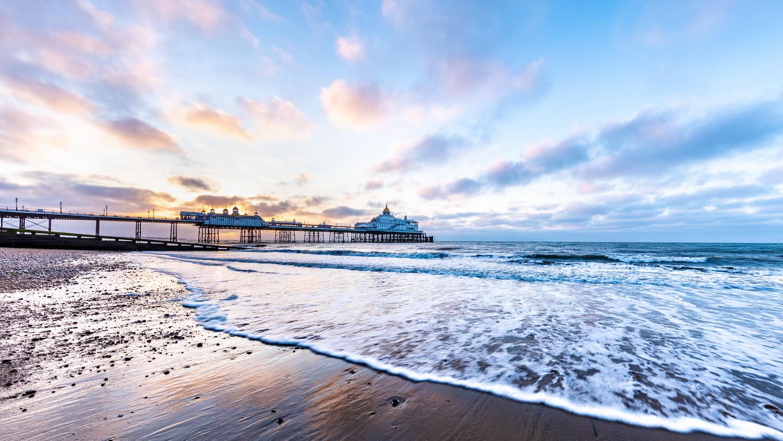 Sunrise over Eastbourne Pier