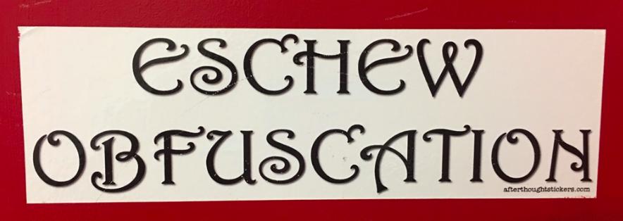 Ms. Bernard's classroom door, which highlights BHS vocabulary words