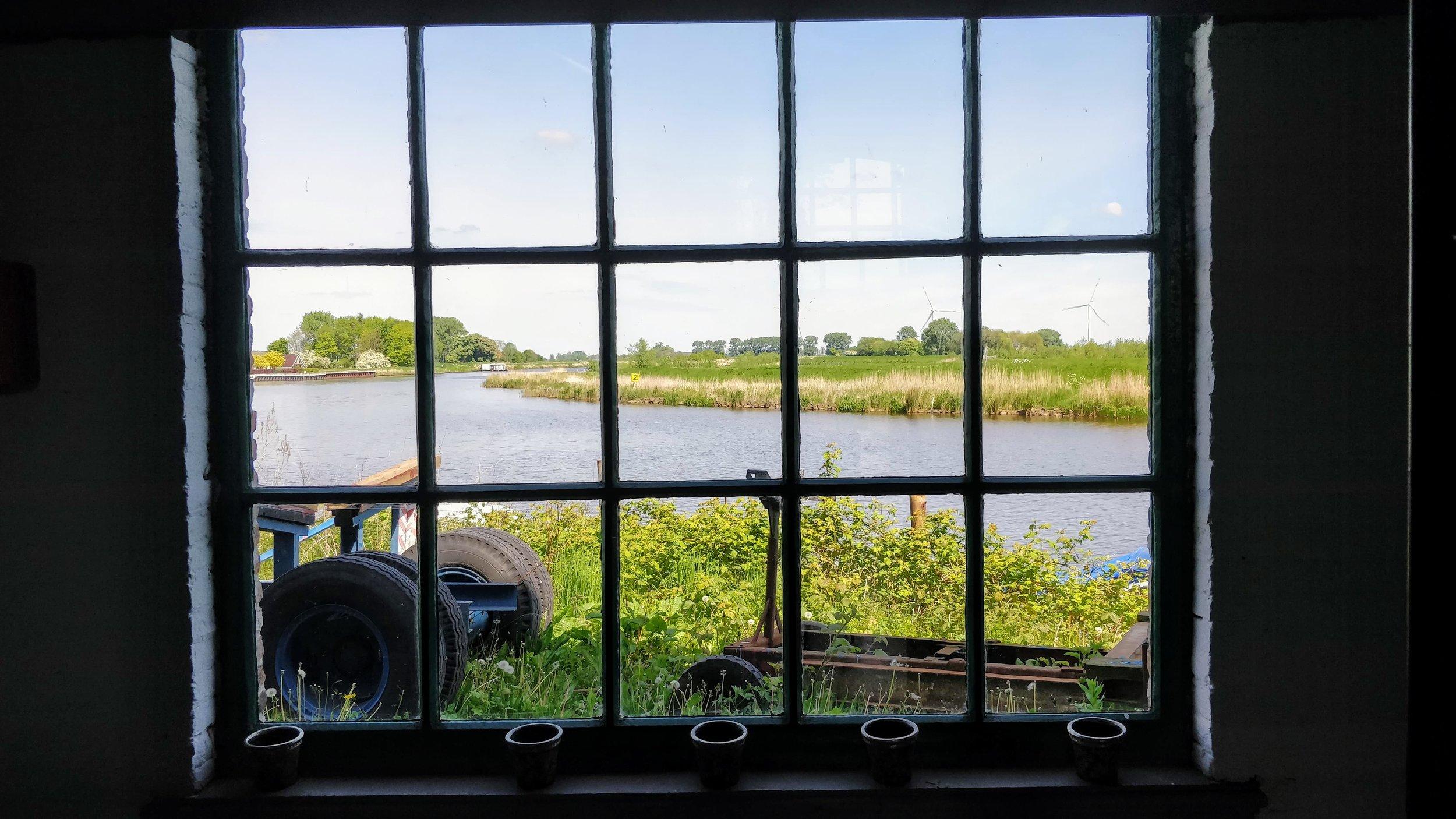 'Dit is de bakker met het mooiste uitzicht van Nederland.'