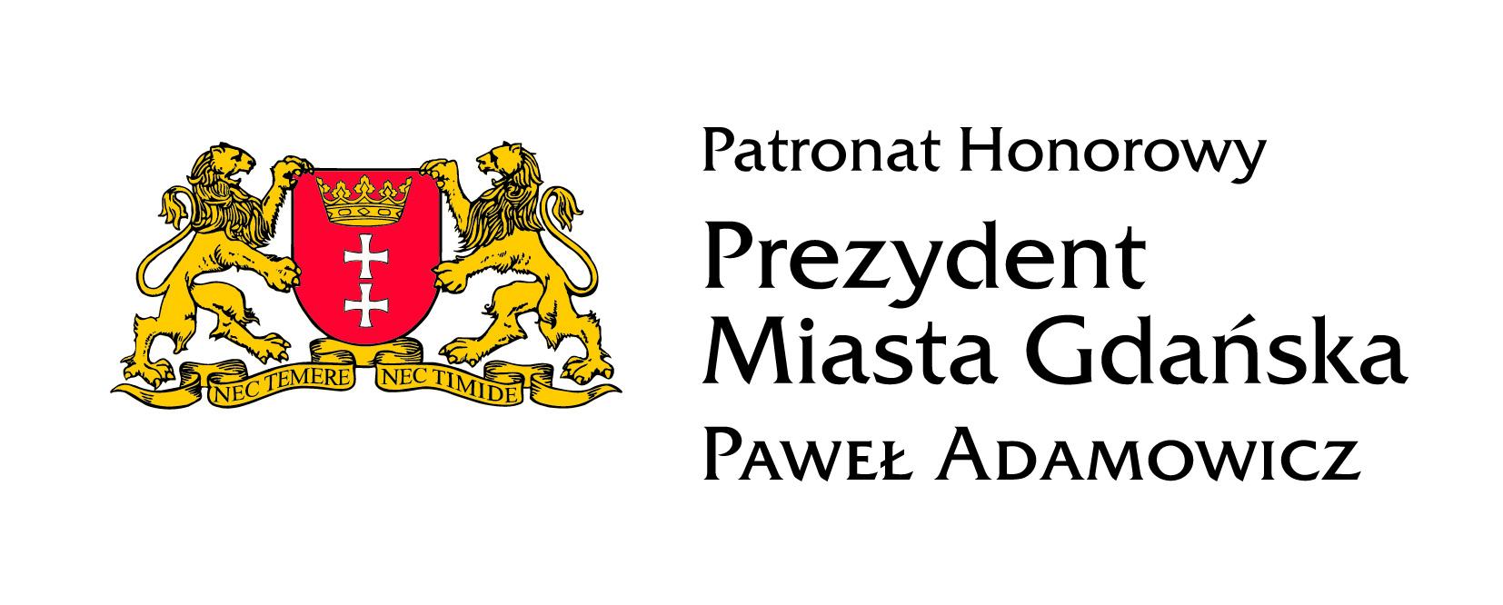 Patronat Honorowy Prezydenta Miasta Gdańska.jpg