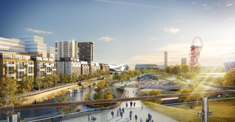 Mock-up of what the regeneration of Newham could look like, courtesy of the Newham Council website (2018).