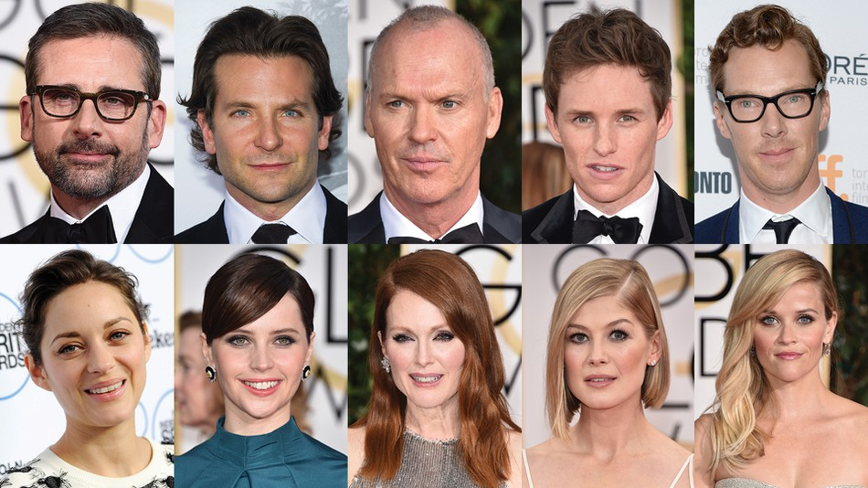 A diverse selection of Oscar nominees, winners, and stars. Photo courtesy of Associated Press