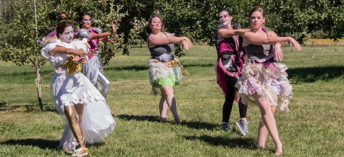 Goddesses Descending 2017 at Park Hill Orchard  Photo Credit: Shaker