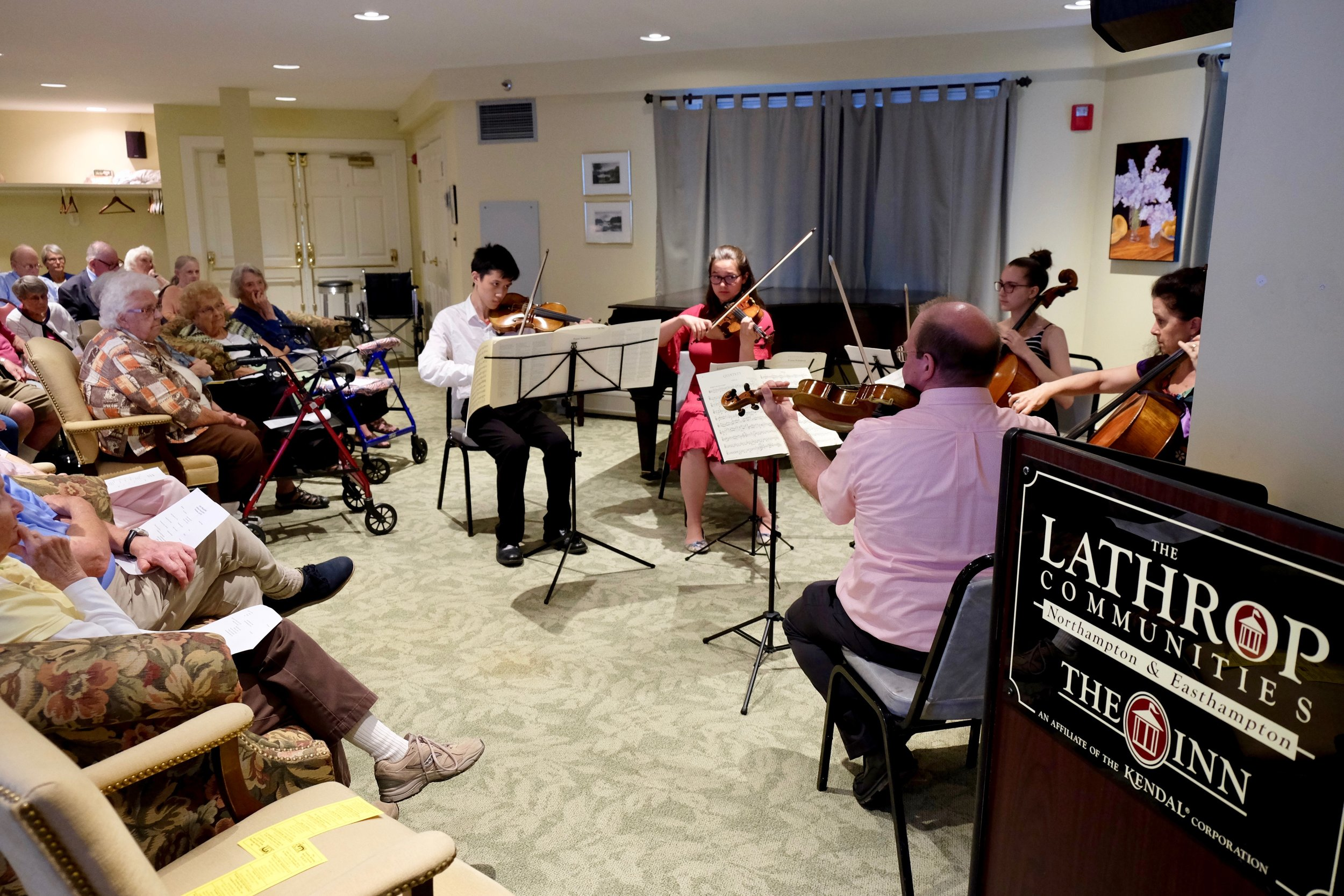 Lyra Concert at the Lathrop Community in Easthampton