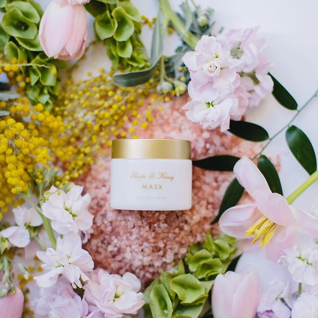 The featured mask in our Spring Refresh Facial Series, peach plumps while honey provides nourishment and protection.