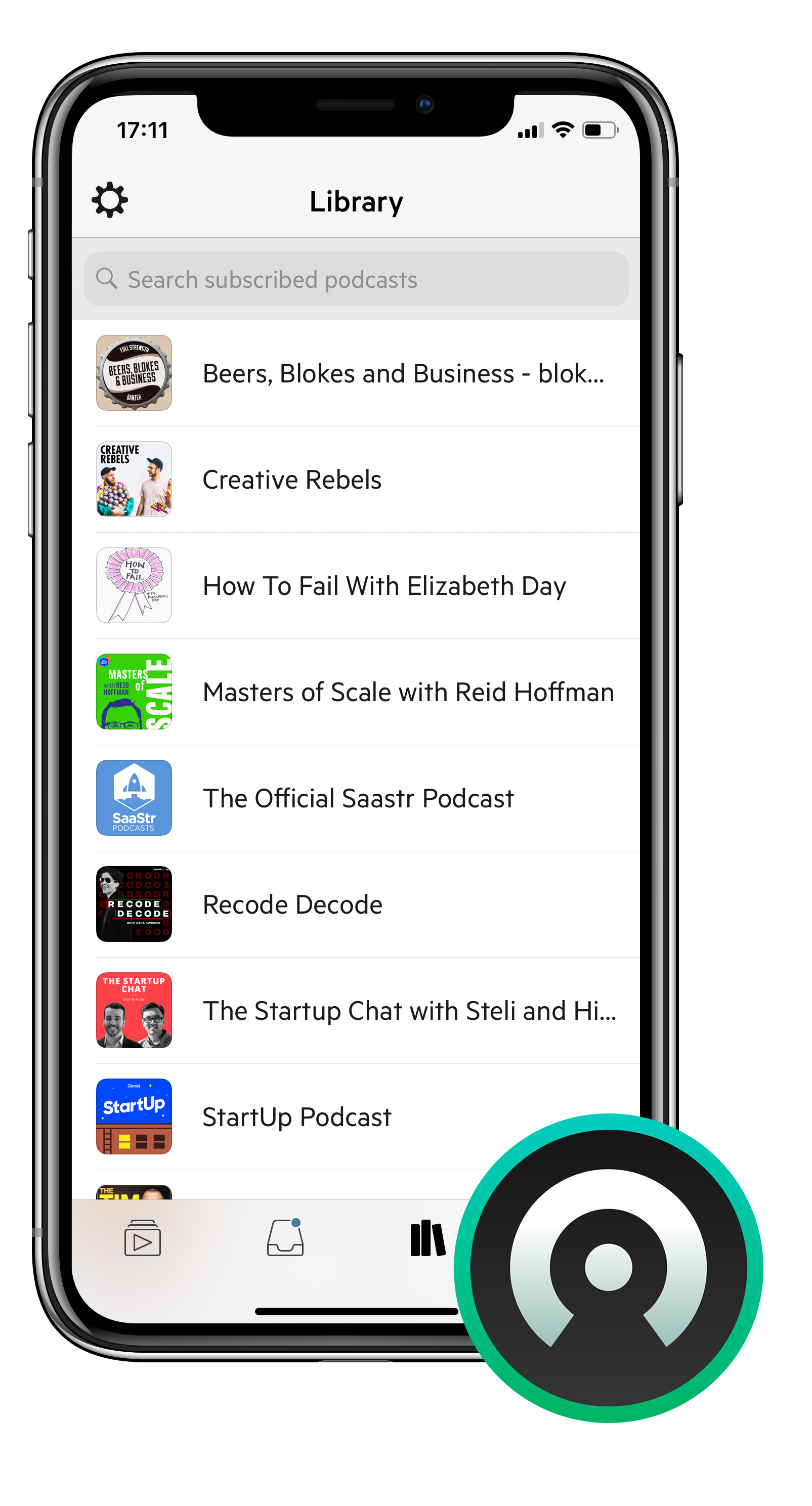 Castro (iOS) - Free - Best for: A beautifully organised podcast experienceFeatures:- New episodes and in the NEW tab, add the ones you want to your queue, clear the rest- Drag and Drop Queue editor- Dark mode and sleep timer- Library to review back catalogue, access starred shows and see listening history.