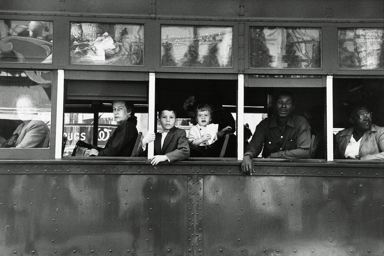 Trolley—New Orleans - Robert Frank (1955)