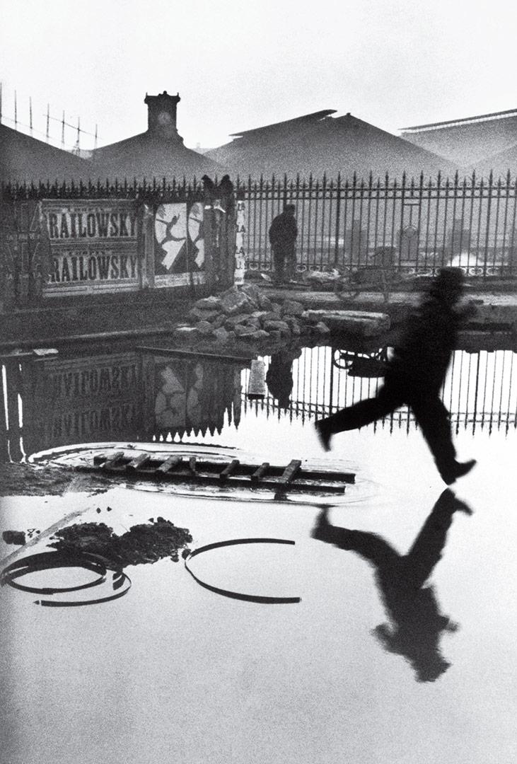 FRANCE. Paris. Place de l'Europe. Saint Lazare station. 1932  © Henri Cartier-Bresson/Magnum Photos