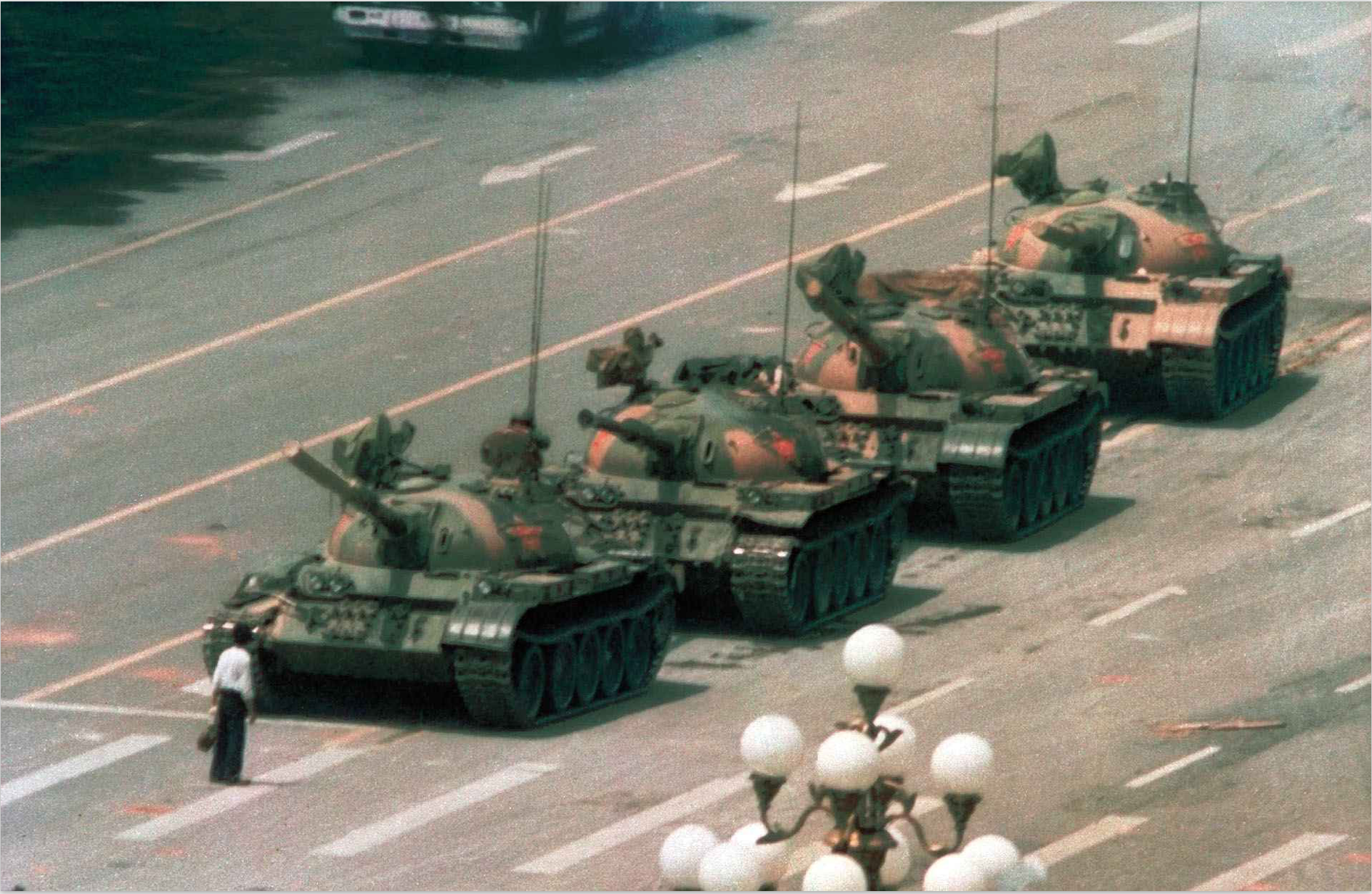 Tank Man by Jeff Widener (1989)