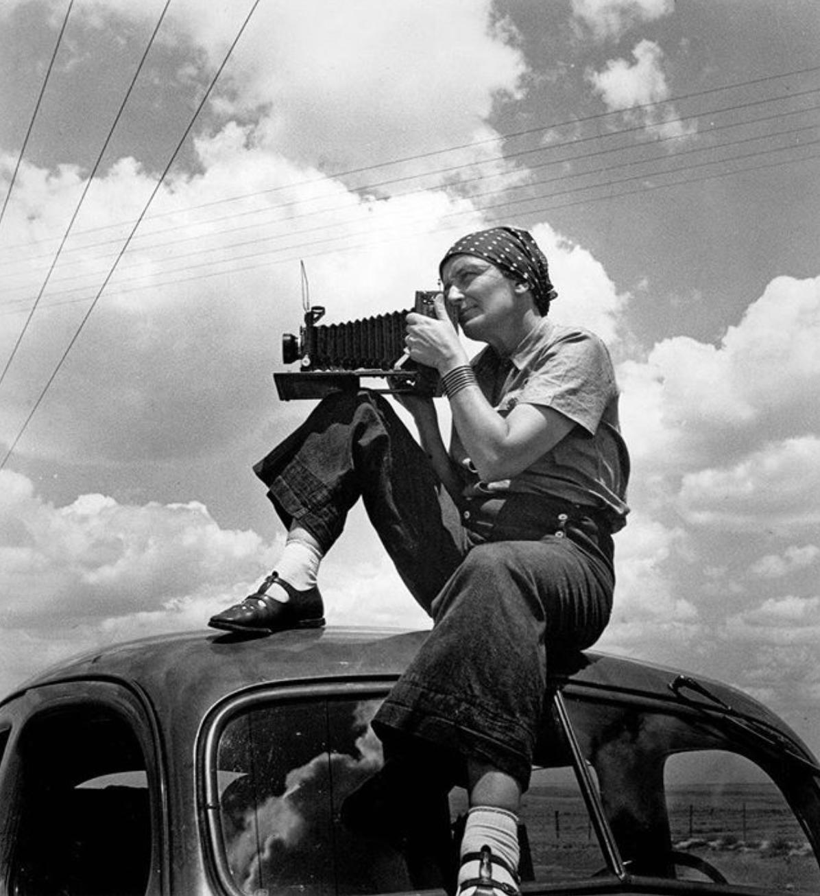 Dorothea Lange (1895 - 1965)  © International Center of Photography