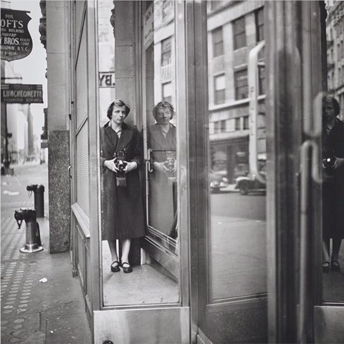 Untitled Self Portrait, Undated ©️ Estate of Vivian Maier.